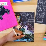 Ooly Scratch & Scribble - Princess Garden