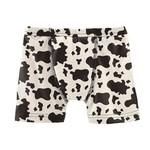 Kickee Pants Print Boxer Brief Cow Print