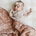 Saranoni Cotton Muslin 2-pack Swaddles Simple Buds