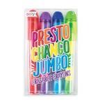 Ooly Presto Chango Jumbo Erasable Crayons - Set of 4