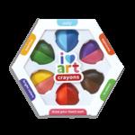 Ooly I Heart Art Erasable Crayons - Set of 6