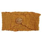 Loved Baby Corduroy Headband - Butterscotch