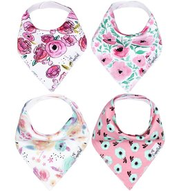 Copper Pearl Bibs - Bloom Set - 4 pack