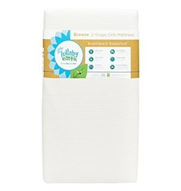 Lullaby Earth Lullaby Earth Breeze 2- Stage Crib Mattress - White