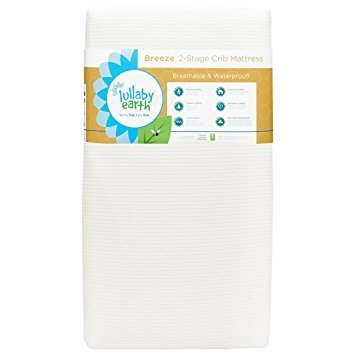Lullaby Earth Lullaby Earth: Breeze 2- Stage Crib Mattress - White