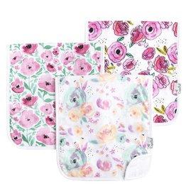Copper Pearl Burp Cloths (3 pack) - Bloom