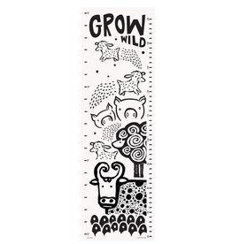 Wee Gallery Canvas Growth Chart - Farm