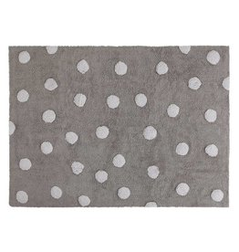 Lorena Canals Polka Dots Grey - White