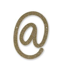 Meri Meri Gold Glitter @ Acrylic Bunting
