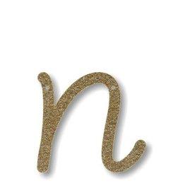 Meri Meri Gold Glitter N Acrylic Bunting