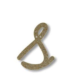 Meri Meri Gold Glitter S Acrylic Bunting