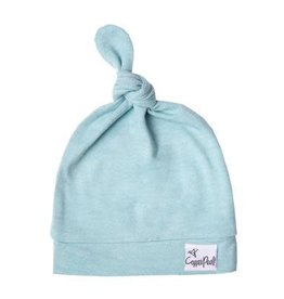 Copper Pearl Newborn Top Knot Hat, Sonny