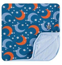 Kickee Pants Print Toddler Blanket Twilight Moon and Stars