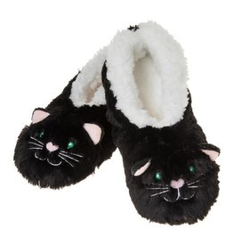 Snoozies Baby Furry Foot Pals - Black Cat