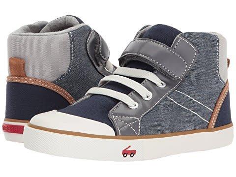 See Kai Run Dane (Little Kid) Shoes Chambray Multi - Kicks and Giggles dbb3e5f2b