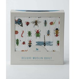 Little Unicorn Deluxe Muslin Quilt - Bugs
