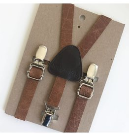 Little Mister Leather Baby & Toddler Suspenders