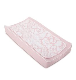 Oilo Studio Changing Pad Cover & Topper (Capri, Blush)