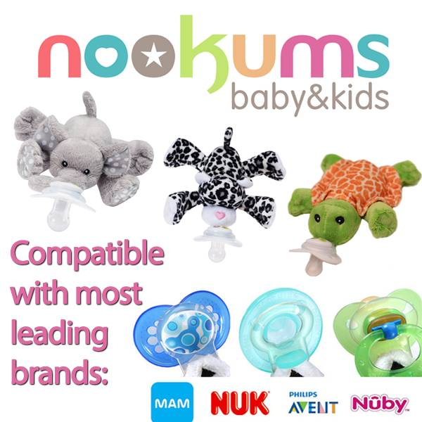 Pacifier Work With Nookums Kicks And Giggles
