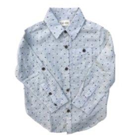 Me + Henry Gray Spot Shirt