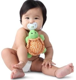 Nookums Pacifier Plushies Shakies - Tickles Turtle