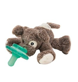Nookums Pacifier Plushies Buddies - Scruffy Puppy
