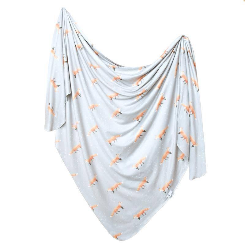Copper Pearl Knit Blanket - Swift