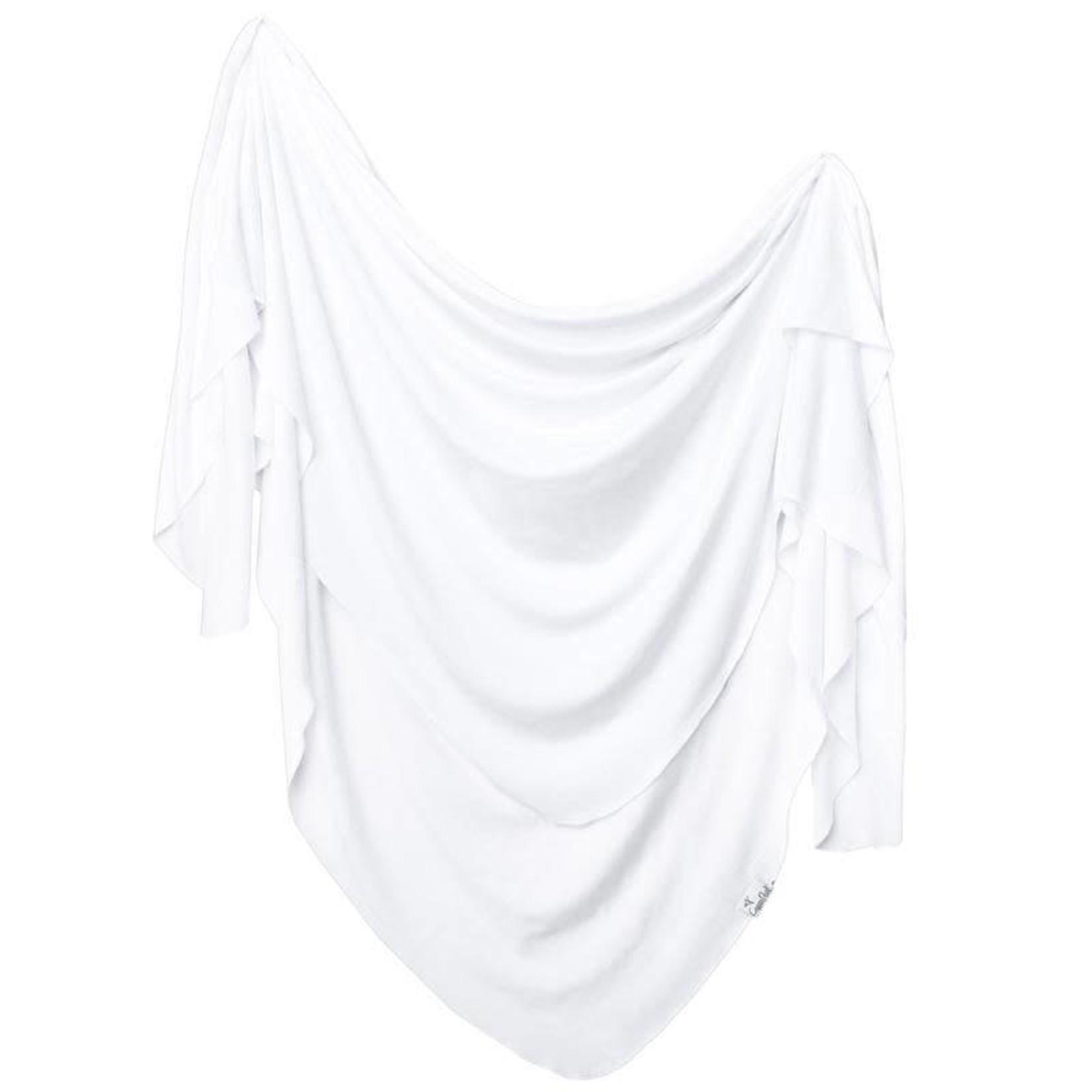 Copper Pearl Knit Blanket - Dove