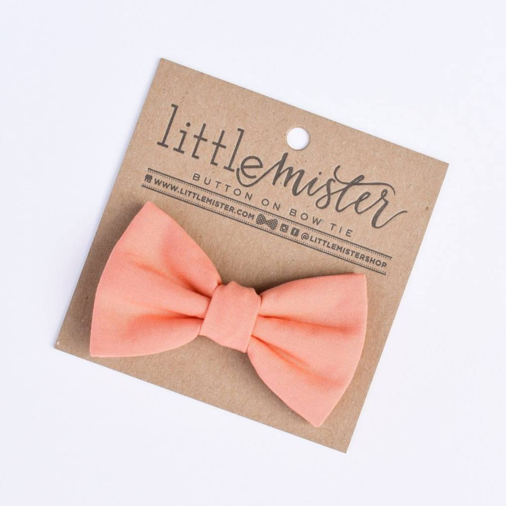 Little Mister Coral Baby & Toddler Bow Tie