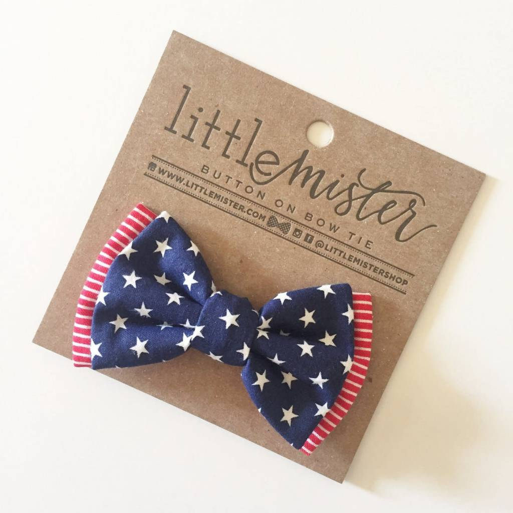 Little Mister 4th of July Baby & Toddler Bow Tie