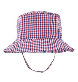 Huggalugs Red, White & Blue UPF 50+ Bucket Hat