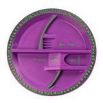 Constructive Eating Fairy Garden Plate