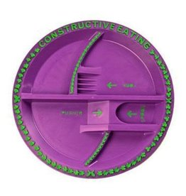 Constructive Eating Fairy Garden Plate