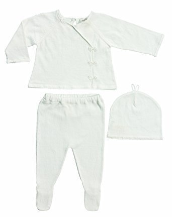 Angel Dear Angel Dear Kimono 3 Piece Set Ivory NB