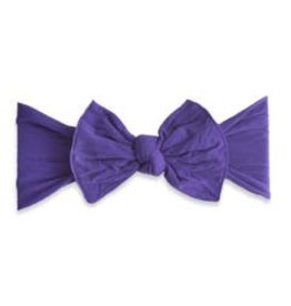 Baby Bling Bows Classic Knot - Ultra Violet