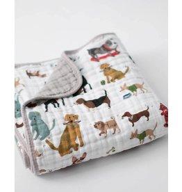 Little Unicorn Cotton Muslin Quilt - Woof
