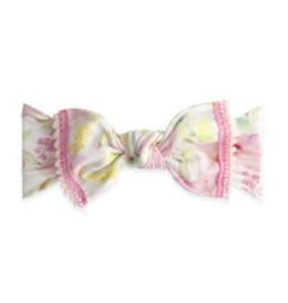 Baby Bling Bows Trimmed Printed Knot (Posey Mini Pom)