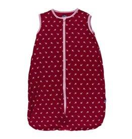 Kickee Pants Print Lightweight Sleeping Bag Candy Apple Rose Bud 0-6 Months