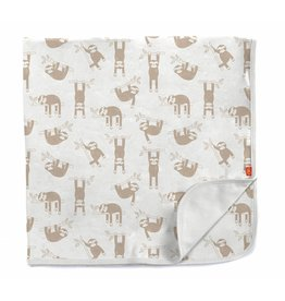 Magnetic Me Silly Sloth Organic Cotton Swaddle Blanket