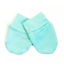 Kyte Baby Scratch Mittens Set - Aqua