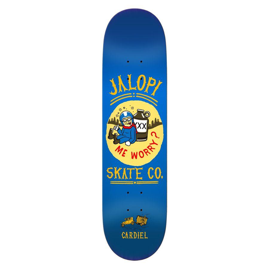 Anti-Hero John Cardiel 8-1/4 inch wide - Jalopi Skate Co