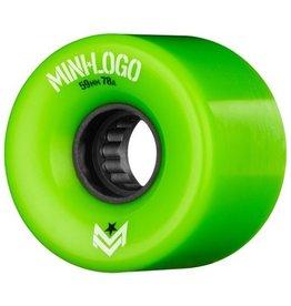 Mini Logo A.W.O.L. 59mm 78A - green