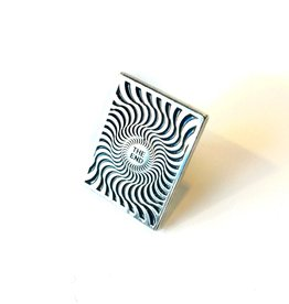 Spitfire Box Swirl Lapel Pin