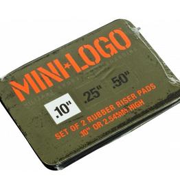 Mini Logo Risers 1/8 inch (2-piece)