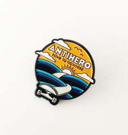 Anti-Hero Road lapel pin
