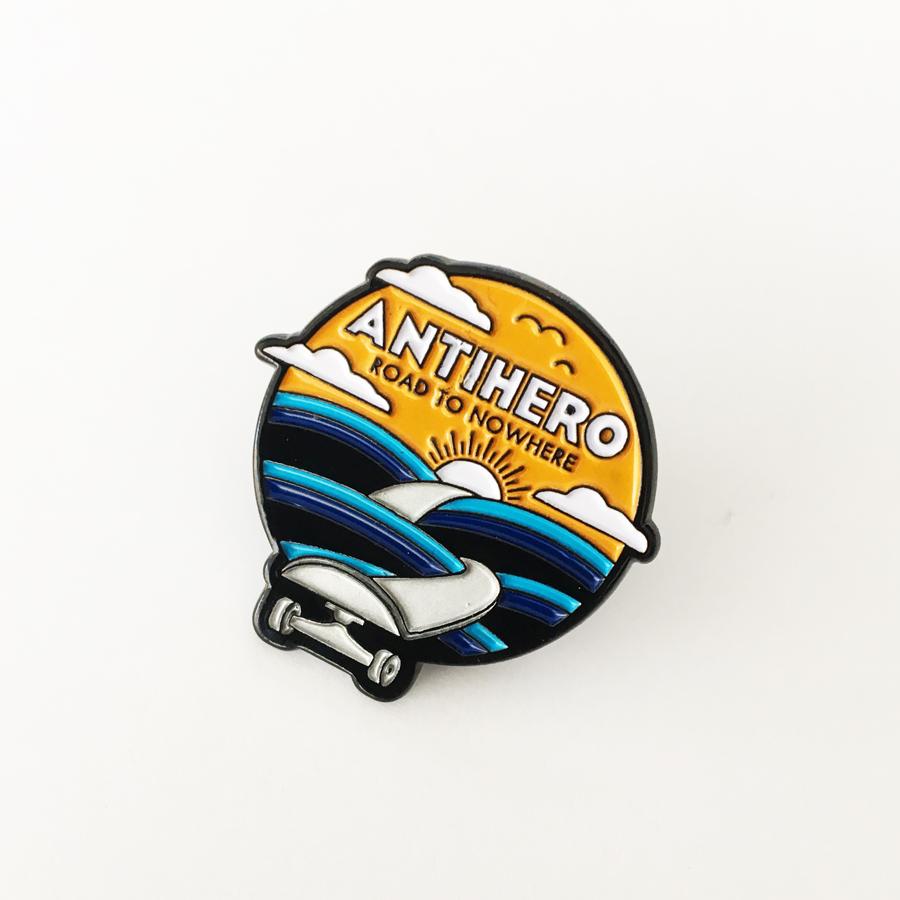 Anti-Hero Road lapel pin