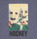 Hockey Baghead Ringer Tee