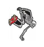 Powell Peralta Skateboard Skeleton