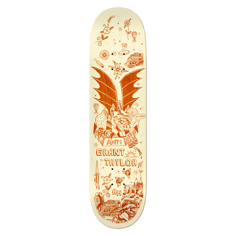 Anti-Hero Grant Taylor 8-3/4 inch wide - We Fly