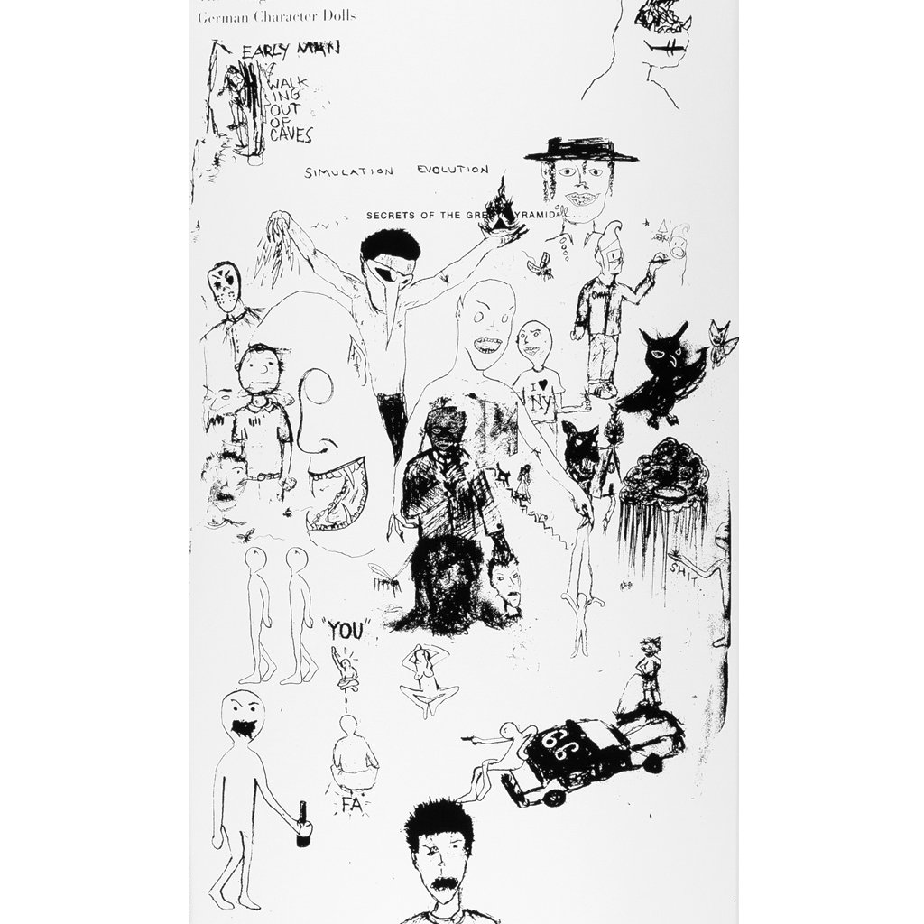 Fucking Awesome Jason Dill 8-1/4 inch wide - Drawing
